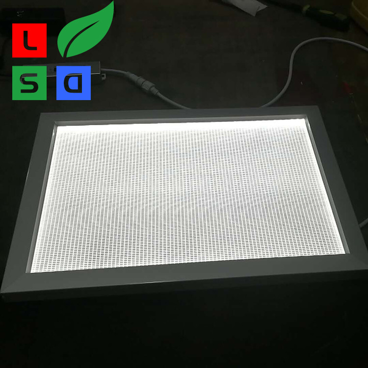 Aluminum Advertising Outdoor Led Light Box Photo With Custom Size Frame